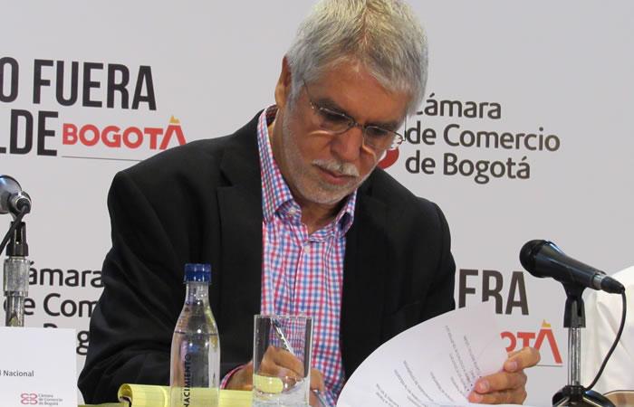 Alcalde de Bogotá, Enrique Peñalosa. Foto: Interlatin