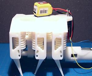 El MIT creó un robot impreso en 3D con flexibilidad