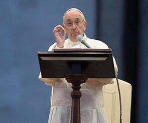 Papa rechaza el matrimonio gay