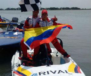 Colombia se coronó campeón del Mundial de Motonáutica en México