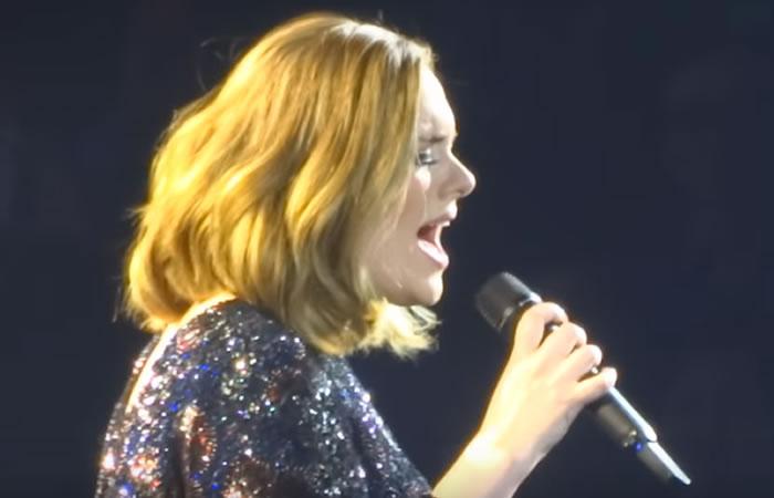 Concierto de Adele se queda sin sonido y así reaccionaron sus fanáticos