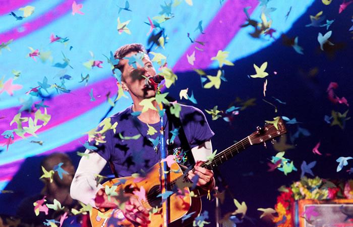 Coldplay ofrece en Río una gran fiesta y Bogotá lo espera con ansias