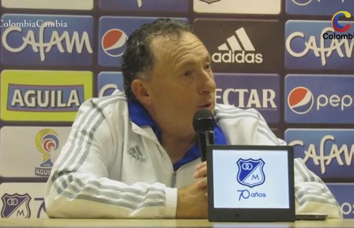 Rubén Israel, director técnico de Millonarios. Foto: Interlatin