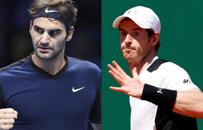 Roger Federer y Andy Murray avanzan de ronda en Montecarlo