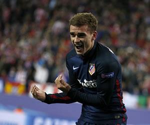 Atlético de Madrid venció al Barcelona y está en semifinales