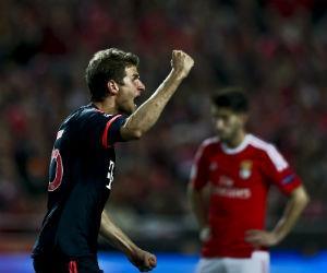 Bayern Múnich resistió y superó al Benfica