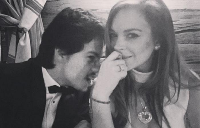 Lindsay Lohan volvería al altar. Foto: Instagram