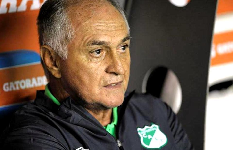 Fernando 'Pecoso' Castro, DT del Deportivo Cali. Foto: EFE
