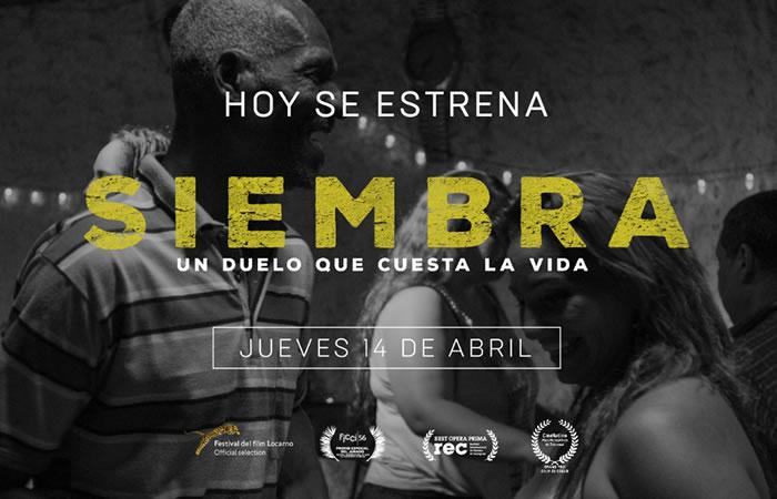 'Siembra'  llega a cartelera de cine colombiana