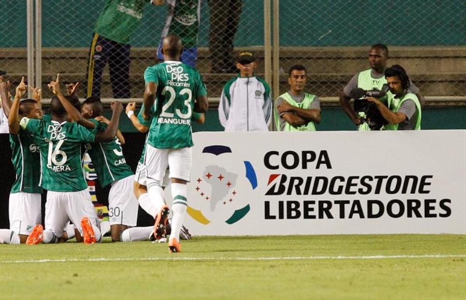 En video, los goles de Deportivo Cali y Bolívar