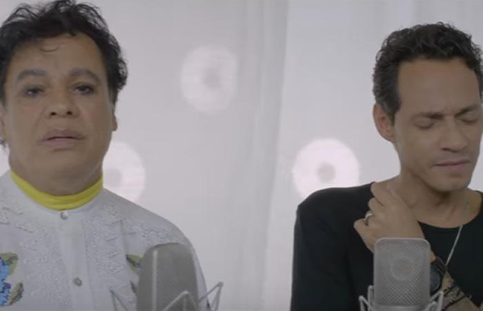 Juan Gabriel y Marc Anthony estrenan el video de 'Yo te recuerdo'