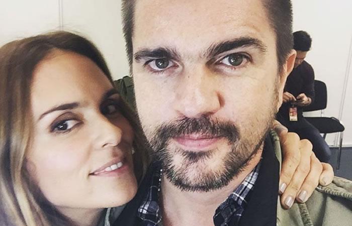 Juanes con su esposa Karen Martínez. Foto: Instagram