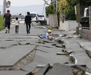 Japón: dos terremotos dejan al menos 30 muertos