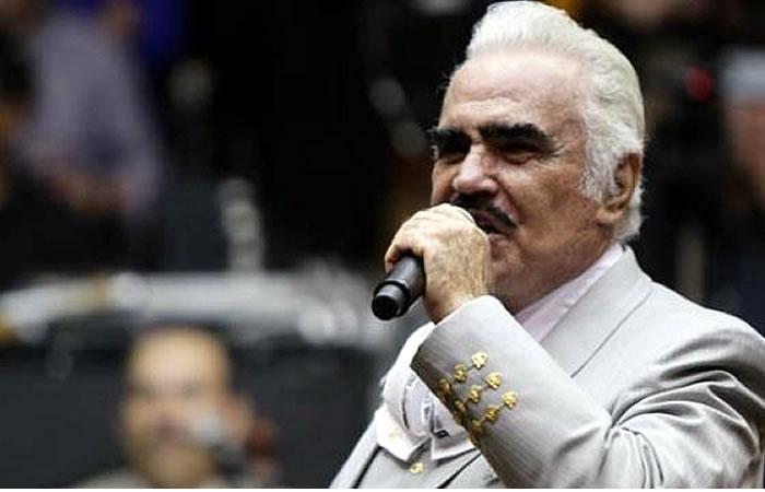 Vicente Fernández le dice adiós a los escenarios. Foto: EFE