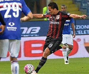 Carlos Bacca salva al Milán con este gol