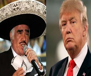 Donald Trump: Vicente Fernández dice que le escupiría en la cara