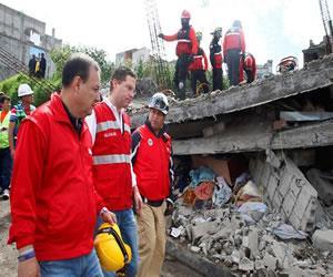 Ecuador:Noruega aportará 1,6 millones de euros para víctimas del terremoto