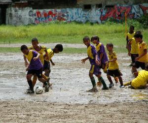 El fútbol, el arma de la paz para las víctimas del conflicto armado