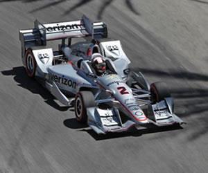 Indycar: Montoya logró el 4to puesto en Long Beach
