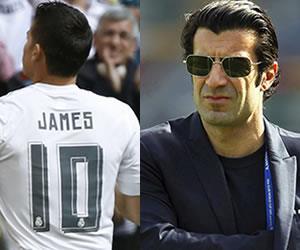 James Rodríguez es elogiado por Luis Figo