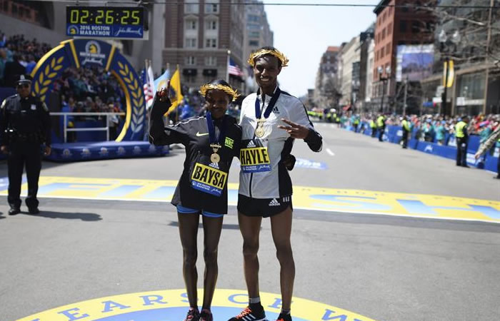 Maratón de Boston: Dos africanos son los ganadores de la edición 120 de la carrera