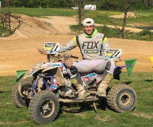 Juan David López logra doble podio en el AMA ATV Motocross 2016