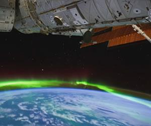 NASA sorprende con video de la aurora boreal