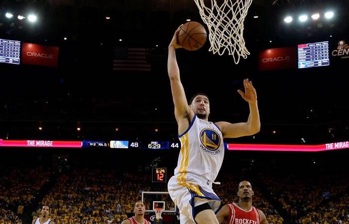 Golden State Warriors ha sacado una ventaja importante en la serie. Foto: EFE