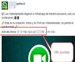 Whatsapp y Facebook son utilizados para estafas ¡Mucho cuidado!
