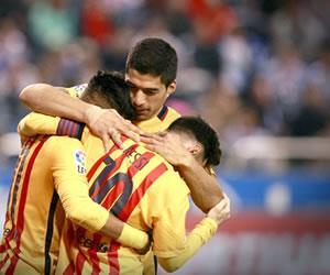 Barcelona aplasta al Deportivo la Coruña y acaba con la mala racha