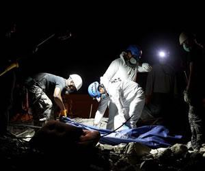 Bomberos rescataron sin vida el cuerpo de niño colomboecuatoriano