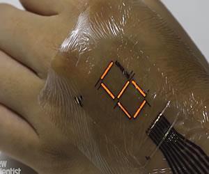 Convierte tu piel en una pantalla LED