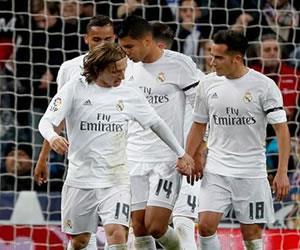 James Rodríguez jugó 15 minutos en el triunfo del Real Madrid