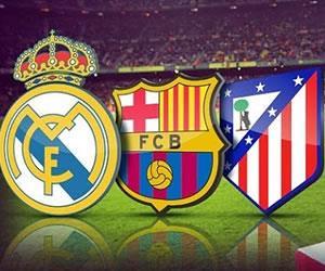 Liga BBVA: Estos son los partidos que le quedan al 'Barça', 'Atleti' y Real Madrid