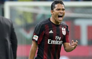 Milan, con Bacca de titular, no pudo ganar al Carpi