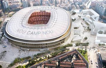 Barcelona: Así será el nuevo Camp Nou
