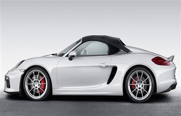 Hombre se excitó al ver un Porsche Boxster
