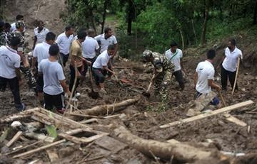 Al menos 16 muertos en un deslizamiento de tierra en el noreste de la India