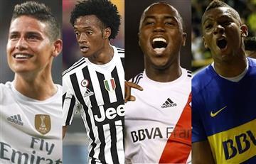 Así jugarán los colombianos en el exterior este fin de semana