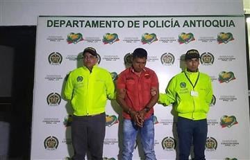 """Capturan a alias """"Manuel"""" uno de los 20 más buscados de Colombia"""