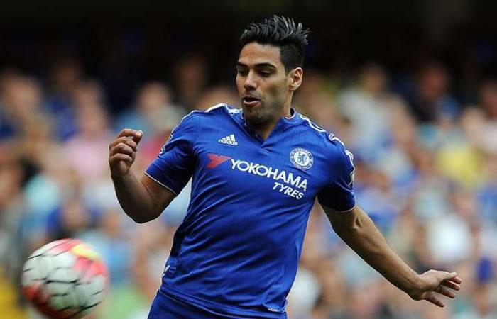 Falcao no ha tenido continuidad en el Chelsea. Foto: EFE