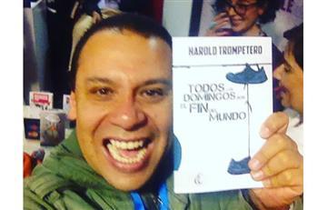 Feria del Libro 2016: Harold Trompetero se lanza a los libros