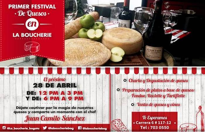 Primer Festival de Quesos en La Boucherie