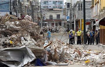 Terremoto en Ecuador: Número de muertos subió a 654