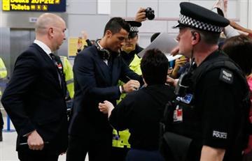 Cristiano Ronaldo llegó a Manchester y desató locura
