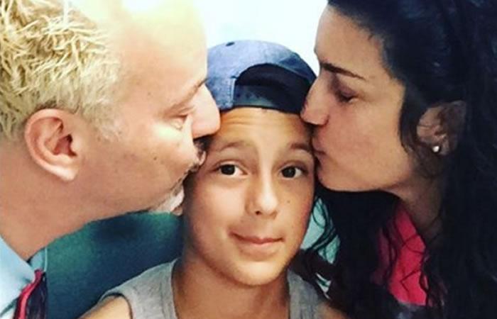 La cantante Karina hizo público el cambio de sexo de su hija de 11 años