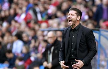 Diego Simeone fue sancionado y se perderá tres partidos