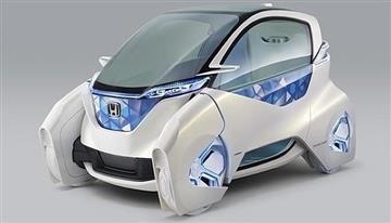 Honda presentó sus prototipos de autos sin conductor