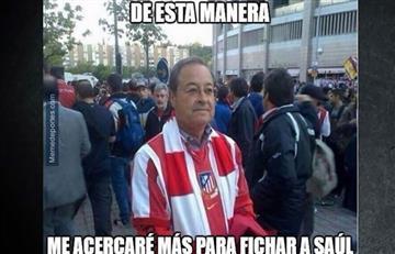 Memes del Atlético de Madrid y el Bayern Múnich
