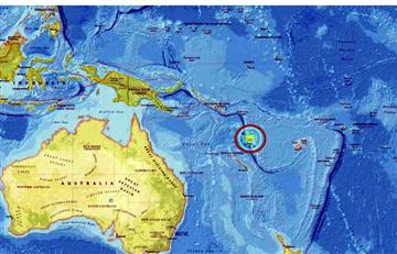 Alerta de Tsunami por sismo de 7.0 en Vanuatu